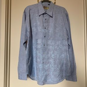 Robert Graham Men's Embroidered Button Up